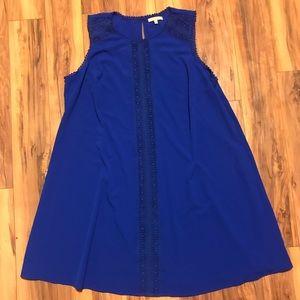 Dresses & Skirts - Blue Sleeveless Gibson & Latimer Dress